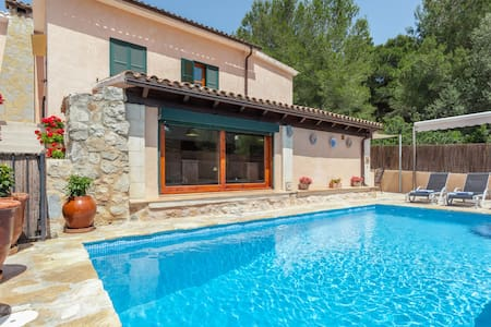 Villa with pool 2' from the beach - Mal Pas-Bon Aire