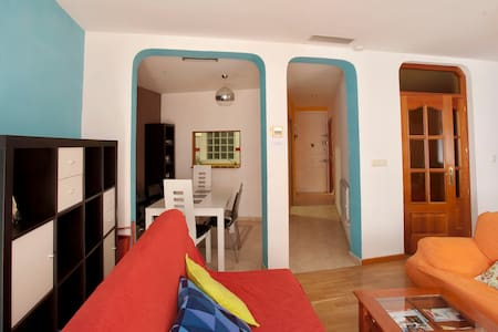 Huge, perfect location, AC...!! - Madrid - Apartment