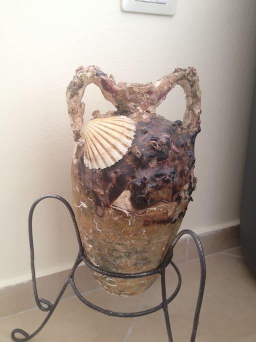 The ancient Amphora