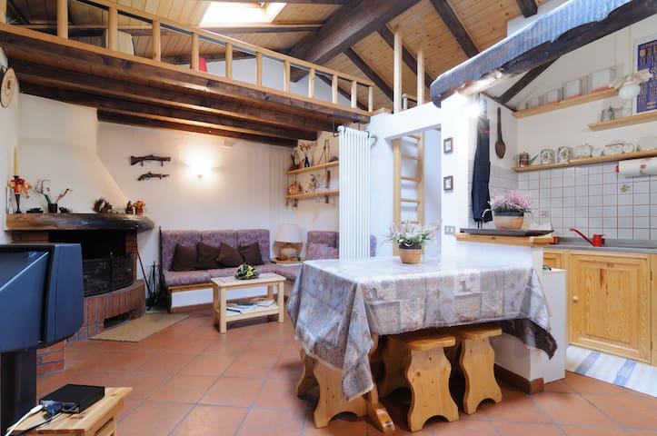 Very nice attic-Trentino Alto Adige - Brez - Appartement