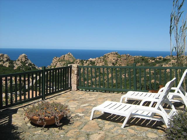 Single villa sea relax and emotion - Costa Paradiso - Villa