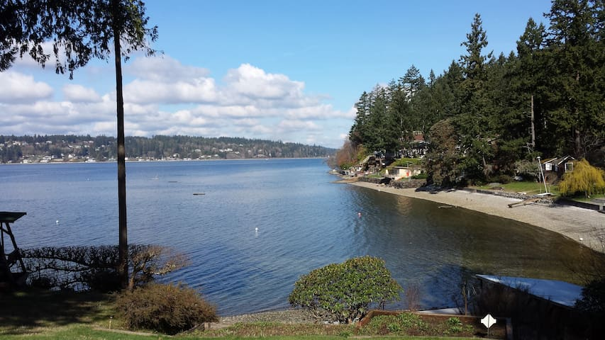 Waterfront Home on Puget Sound - Gig Harbor