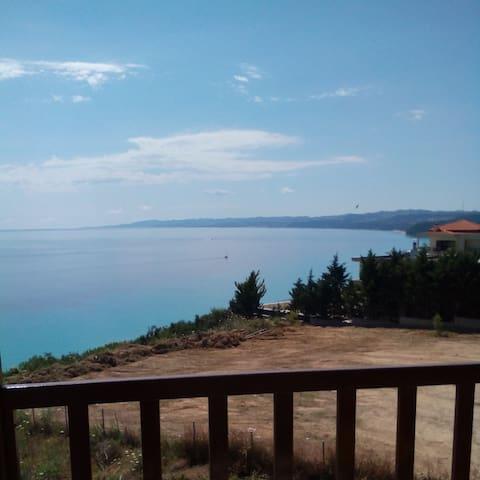 Spectacular sea view (ap.3) - Afytos