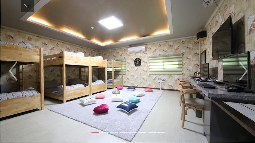 [대전역] 크리스탈레지던스 8~10인 파티룸 - 대전 - Lägenhet