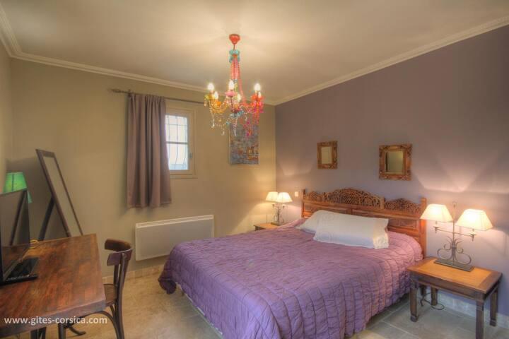 Chambres d'hôtes a Casella, chambre a scopa