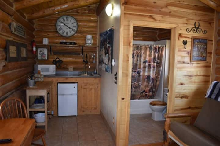Cozy Log Cabin in Flaming Gorge at Rocky Ridge Outpost #2 – Sleeps 4