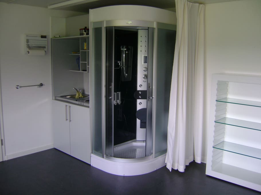 Dusche/Küche
