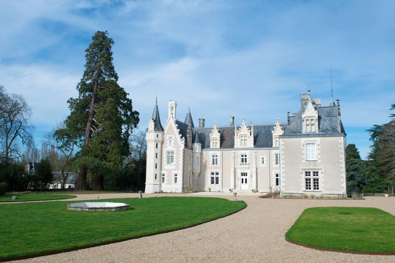 facade du chateau