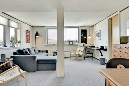 Cozy Apt. close to the beach med fri wifi. - Vejers Strand
