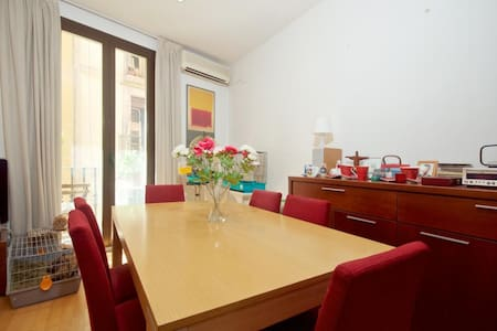 Double room in histocial centre of the city - Barcelona - Lägenhet