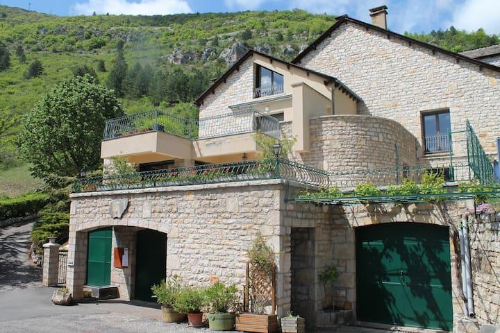 Appartement Le Vignot au coeur des gorges du Tarn