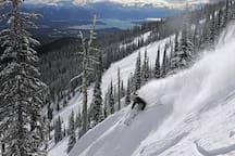 Skiing at Mt. Schweitzer.