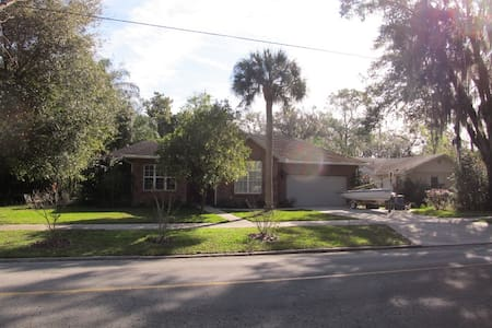 Charming Home on Oak Lined Street - Bartow