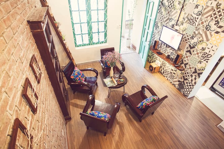 Vintage house near by Opera House (Tuti ThangLong) - Lý Thái Tổ - Appartement