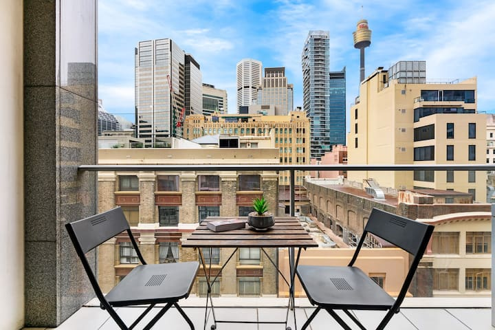 Sydney CBD city view studio