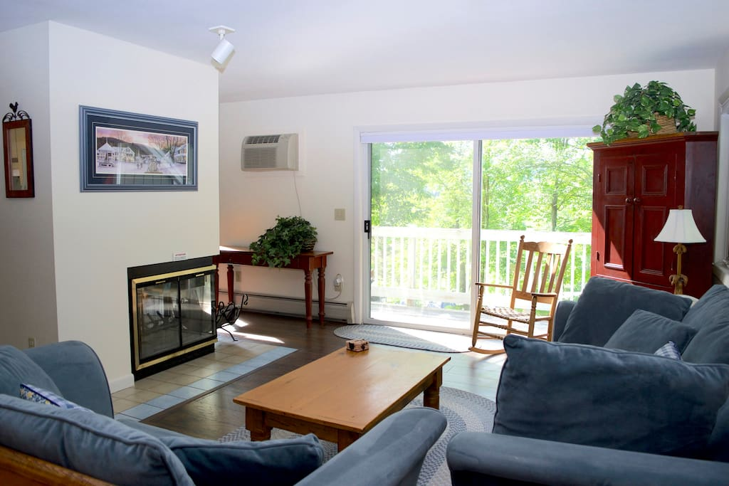 Enter into Main Living Space with AC