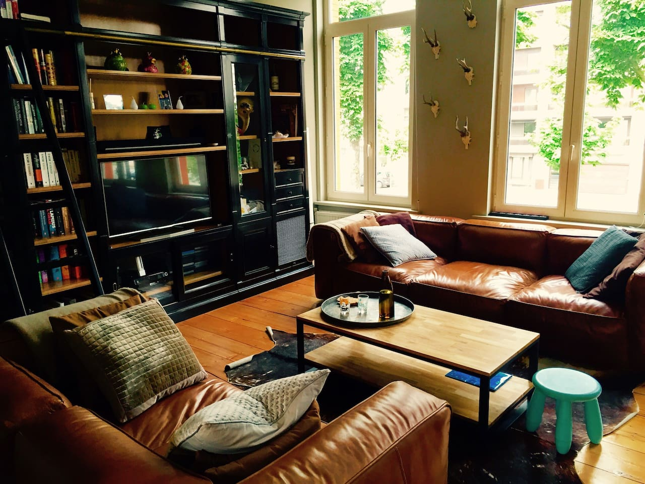 Living room sofa - first floor