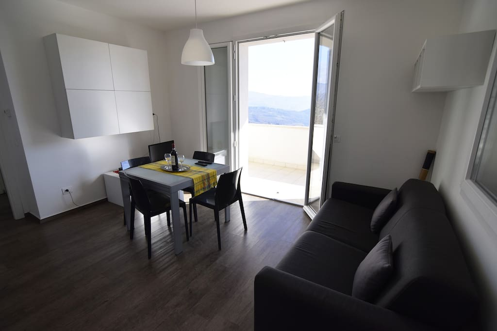 La sala dell' appartamento