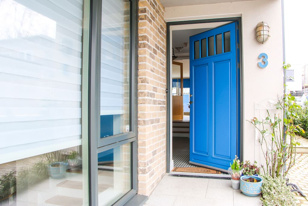 Blue Front Door