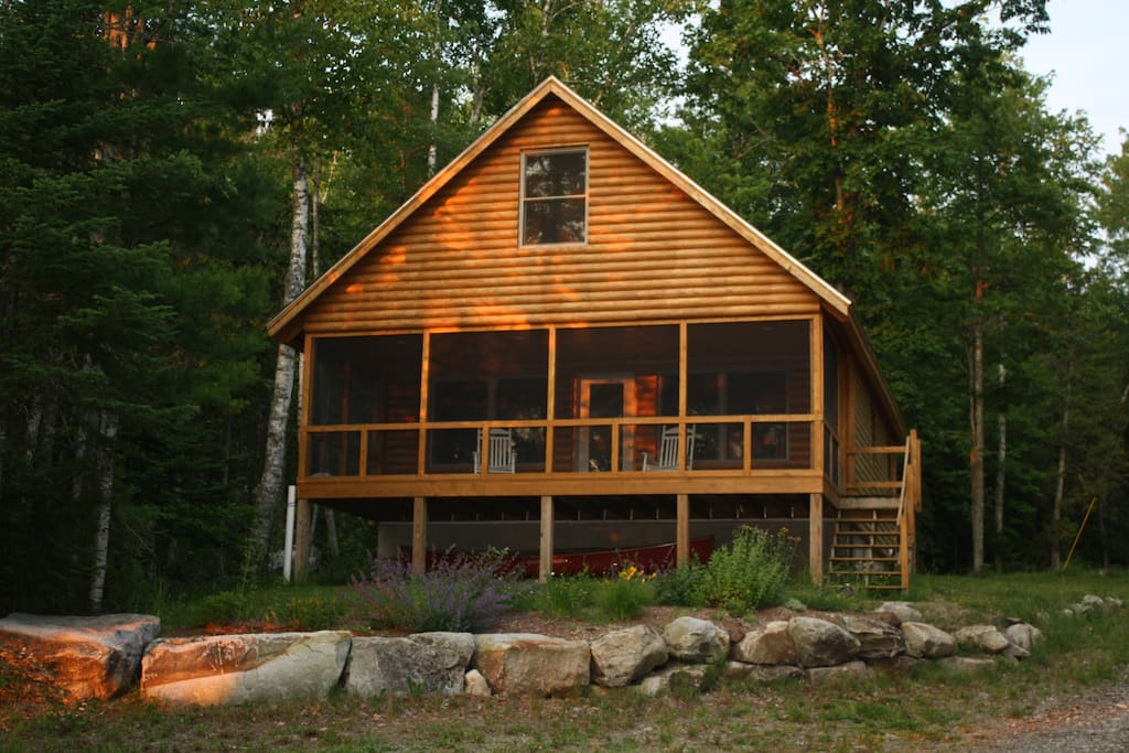 Beautiful Cabin In Downeast Maine Cabins For Rent In