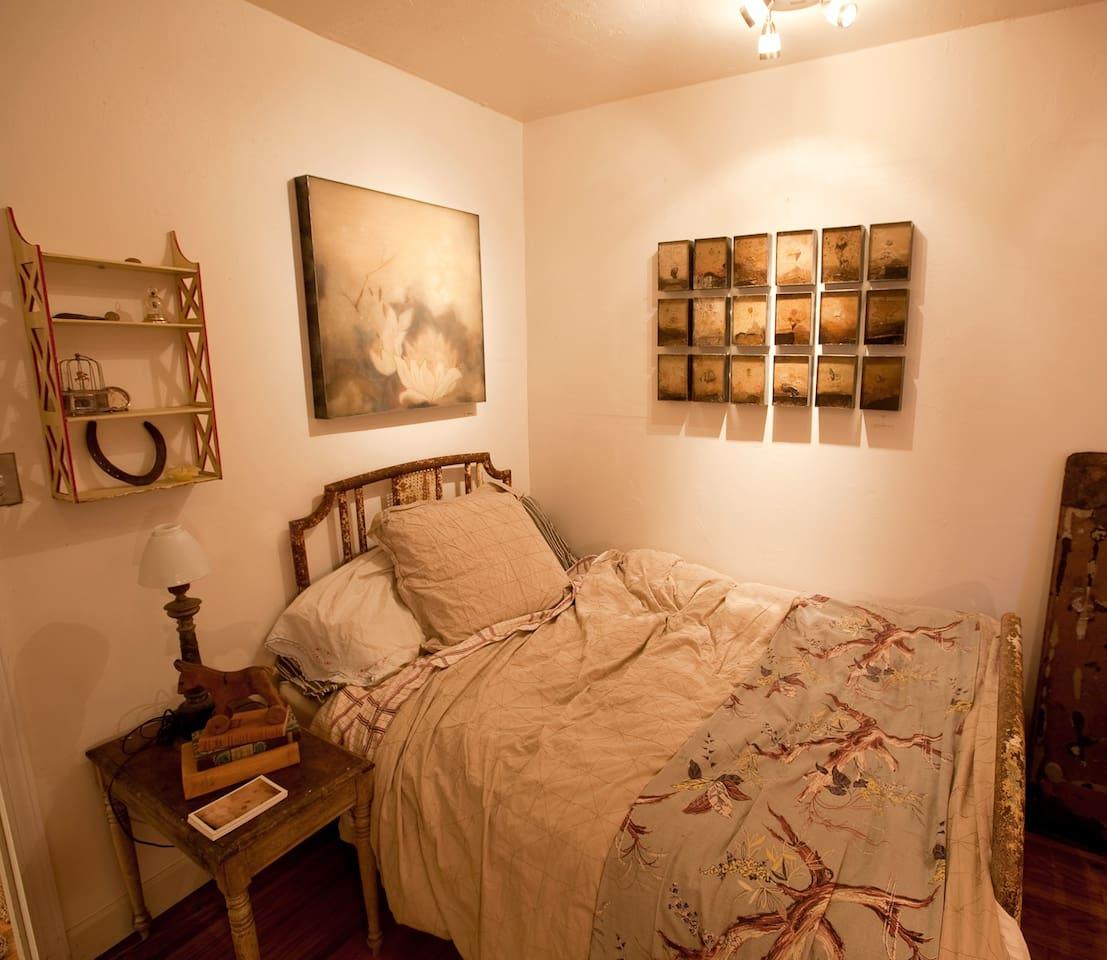 adorable guest room bed - comfy and firm