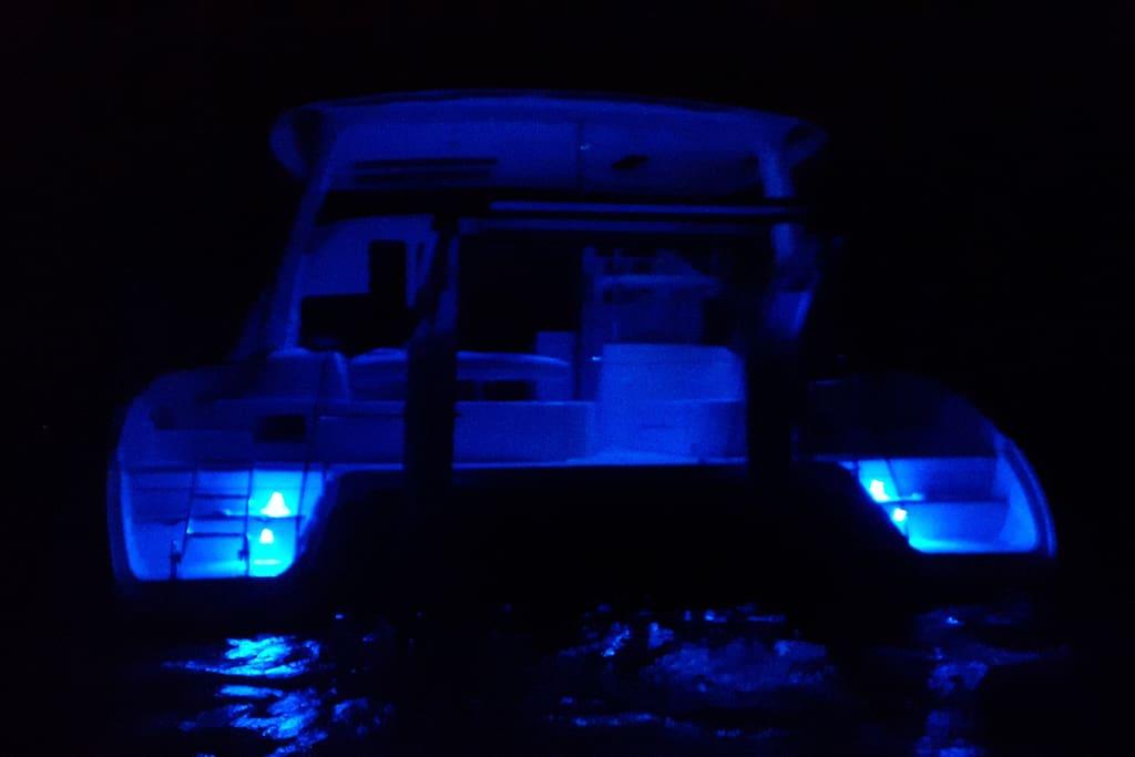 Night view lighting