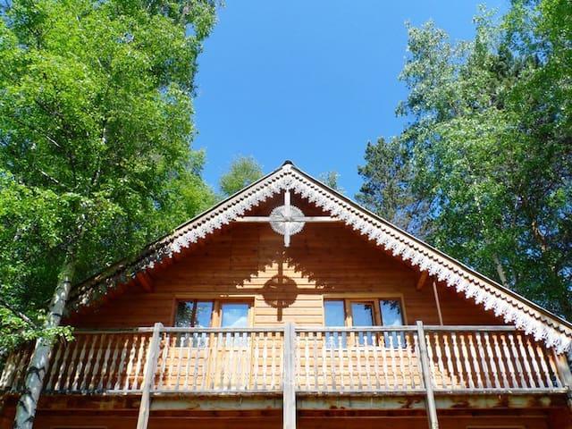 Baikal guesthouse Fedorov Dvor - Baykalsk - Talo