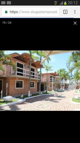Casas a 30 metros da praia de Maresias (casa 07)