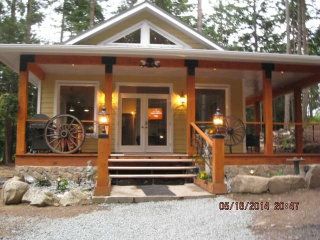 2 person luxury mins from ferry  - Galiano Island - Chatka