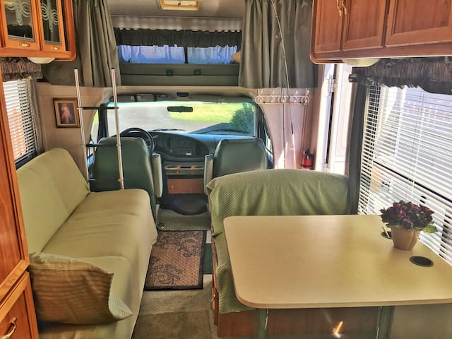 Simple yet affordable & comfortable sleeping in RV