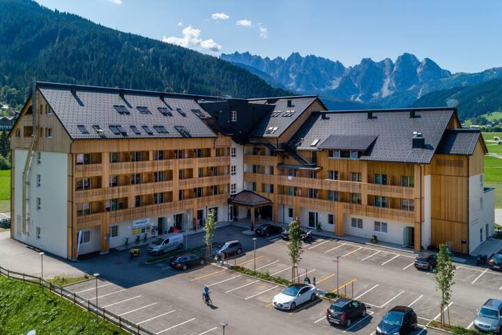Lussuoso appartamento con servizi alberghieri vicino alla famosa Hallstatt