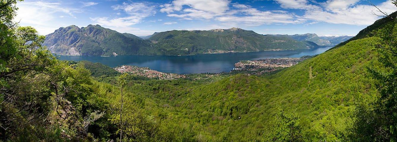 Lake Como from Zucco della Rocca (1h 30min on foot)