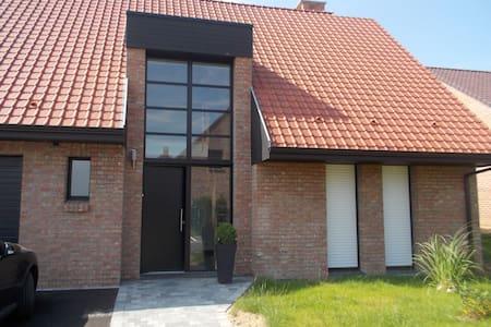 Maison neuve dans résidence privée - Famars