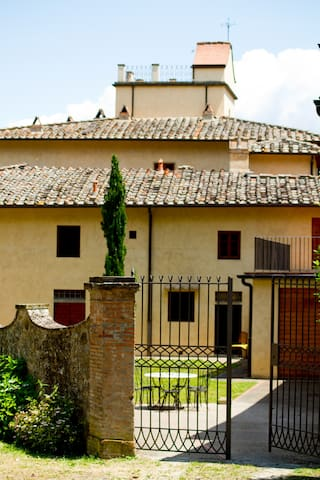 Country apartment in a vineyard  - Greve in Chianti - Haus