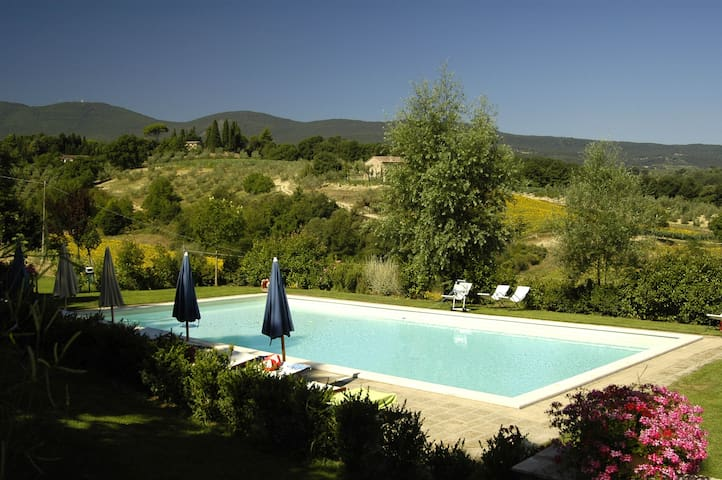 Camelia: country house in Tuscany  - Cetona