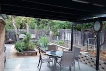 How about breakfast on the patio?