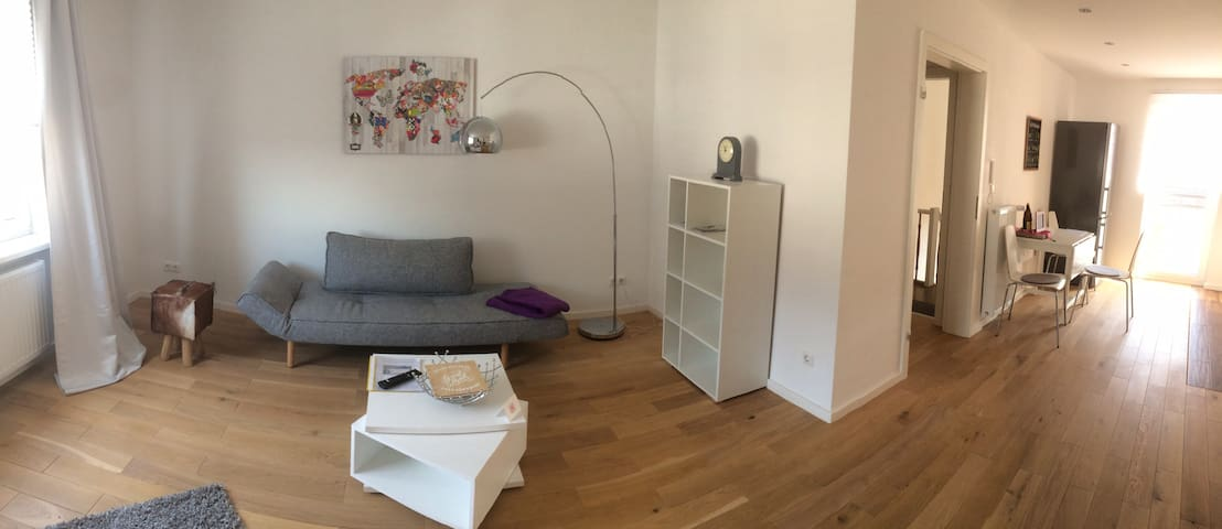 Near Frankfurt lovely flat with garden - Neu-Isenburg - Kondominium
