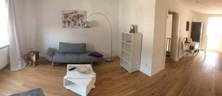 Near Frankfurt lovely flat with garden
