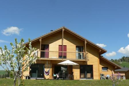 Maison bois village 15 km Annecy  - Thorens-Glières - Hus