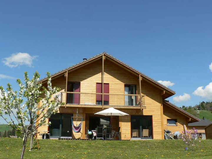Maison bois village 15 km Annecy