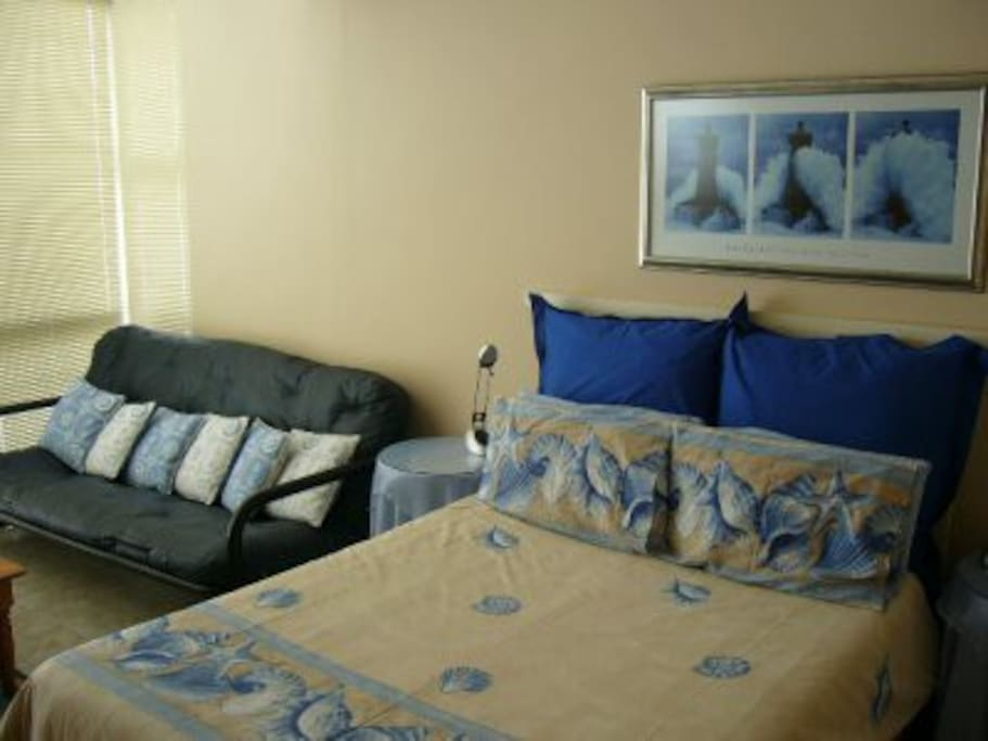 Main bedroom with air conditioner