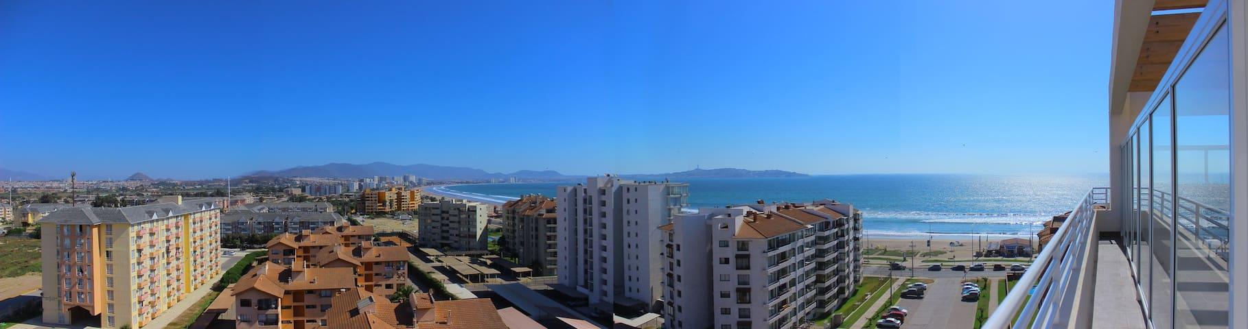 vista desde la terraza panorámica.