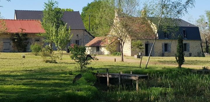 Moulin du 18ème siècle entièrement rénové