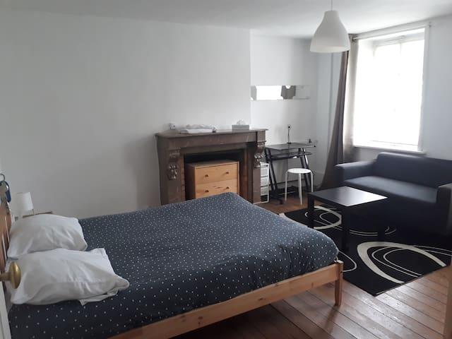 Chambre privée 2éme étage proche Nausicaa ville*
