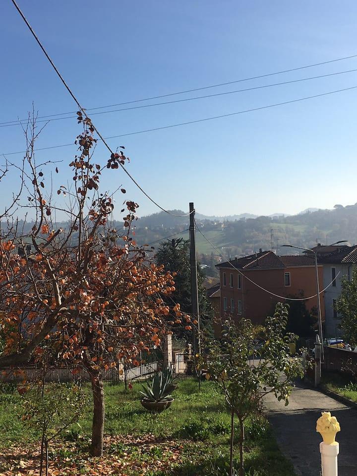 Appartamento a Salsomaggiore con vista colline
