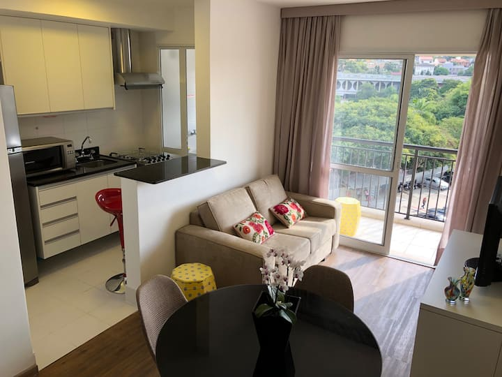 Comfortable apartment at Morumbi: everything new.