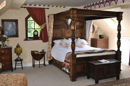 Bohemian, romantic en-suite luxury