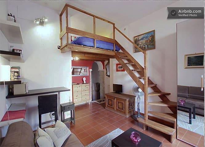 PRISCILLA: Your home in Trastevere - Rome - House