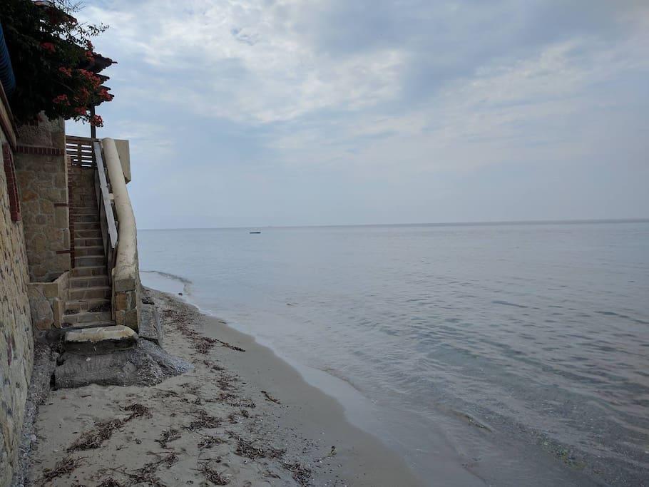 Beachside (1 min walk)