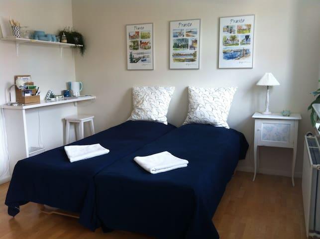 Lyst værelse i Præstø centrum - Præstø - Apartamento